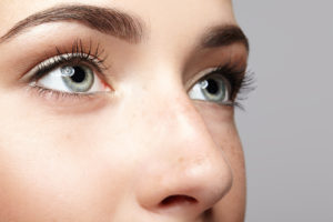 woman-open-eyes-with-day-makeup-and-pretty-nose-300x200 Hidden Benefits of Rhinoplasty