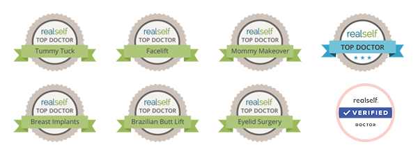 RealSelf Badges - Top Doctor