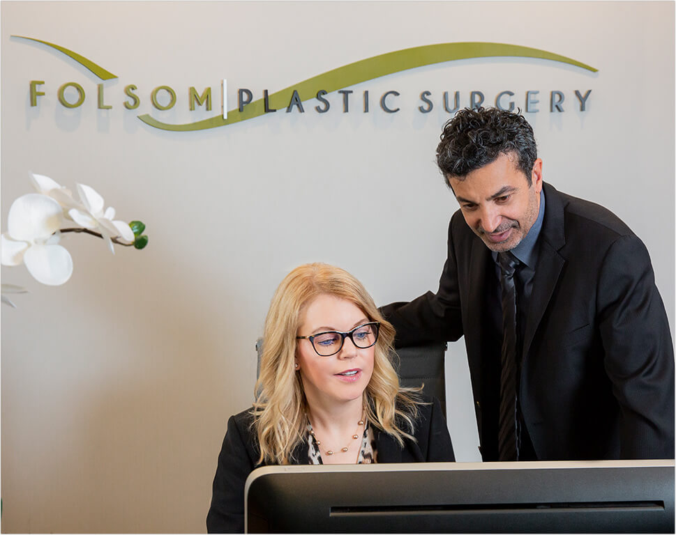 Dr. Mabourakh and staff at Folsom Plastic Surgery