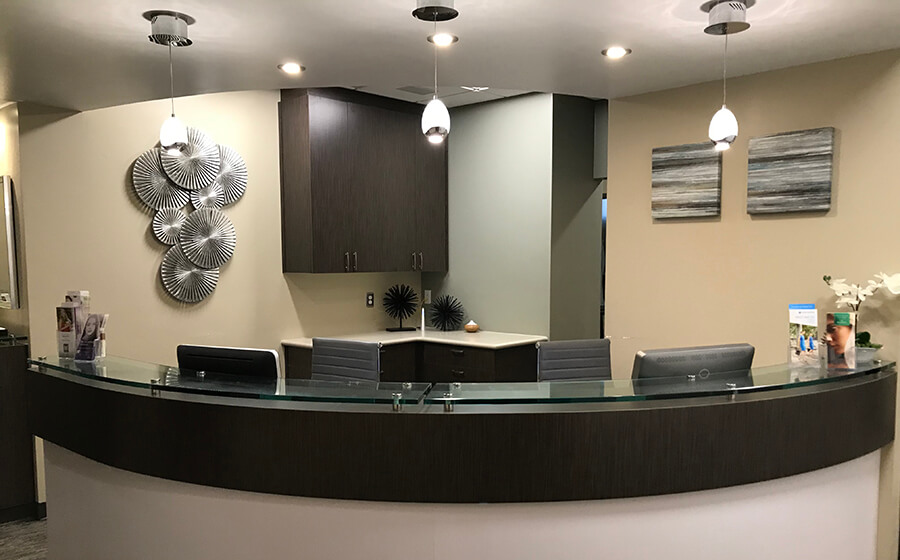 Folsom Plastic Surgery Check Out Area