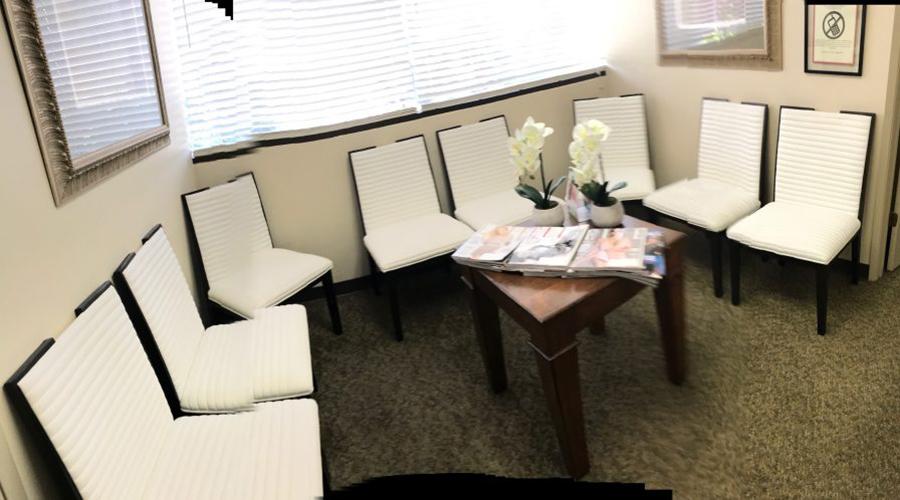 Stockton Plastic Surgery Waiting Room